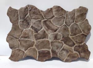 panour decorativ piatra naturala maro