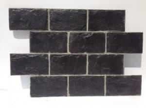 panou decorativ ardezie negru