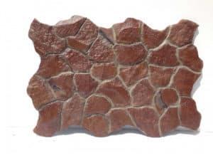 panour decorativ piatra naturala caramizie