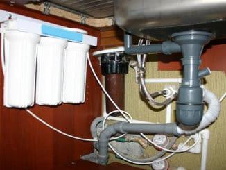 filtru apa potabila montat sub chiuveta