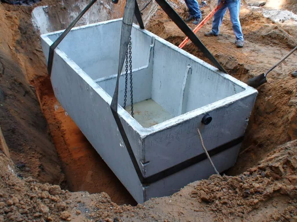 fosa septica din beton prefabricat