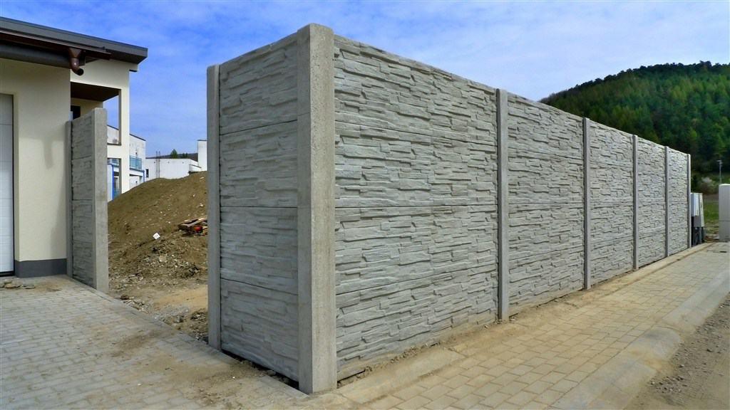 garduri din prefabricate de beton