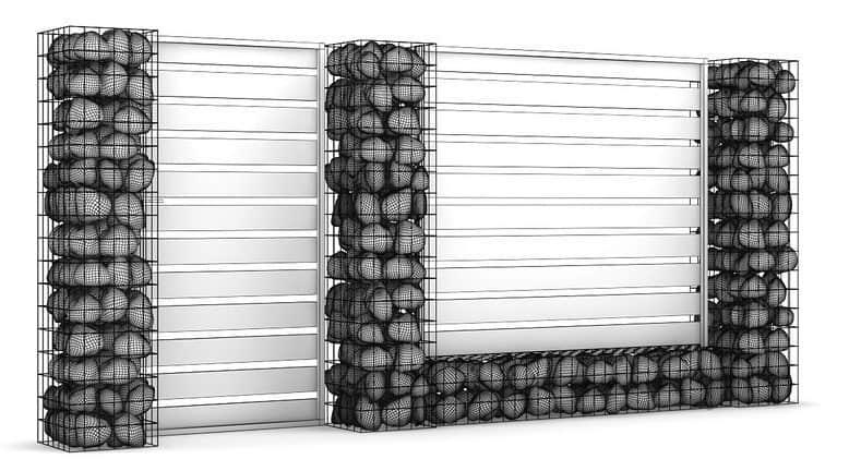 model de gard