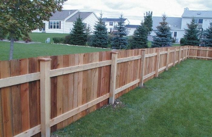 garduri ieftine din lemn