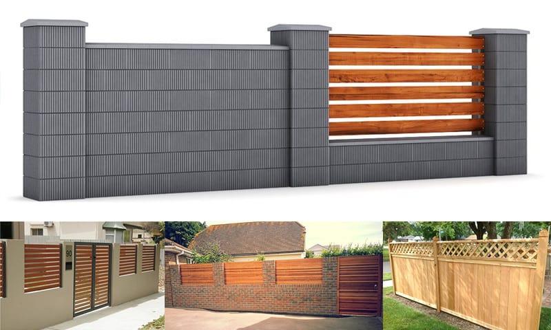 gard casa cauti modele de garduri pentru curtea ta