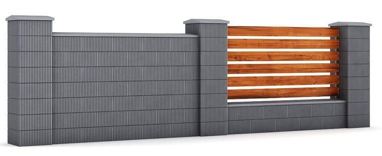 gard din boltari de beton
