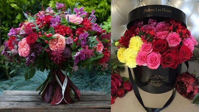 buchete de flori sau aranjamente florale