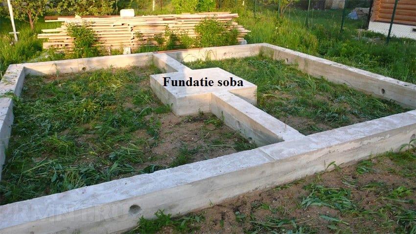 fundatie sobe din caramida