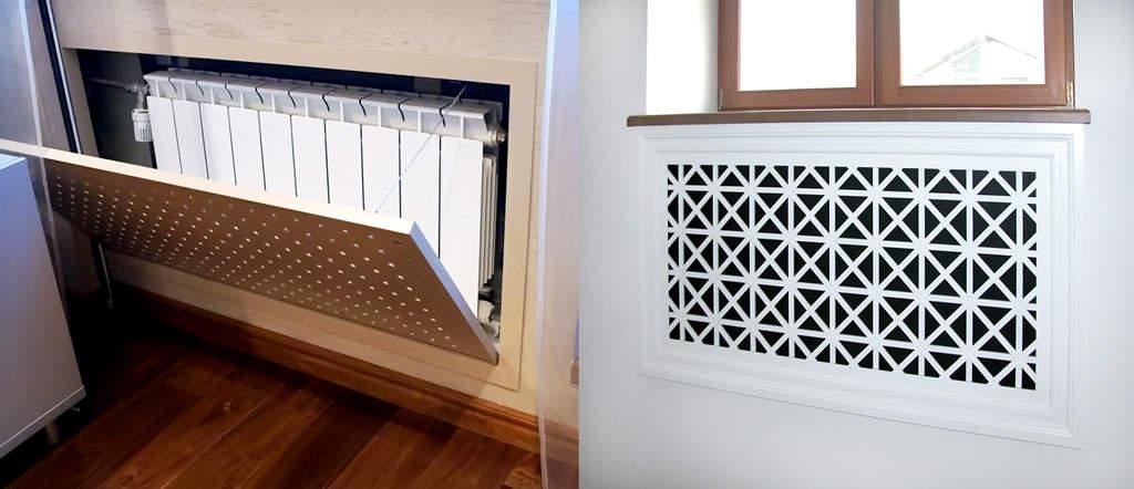 masca radiator