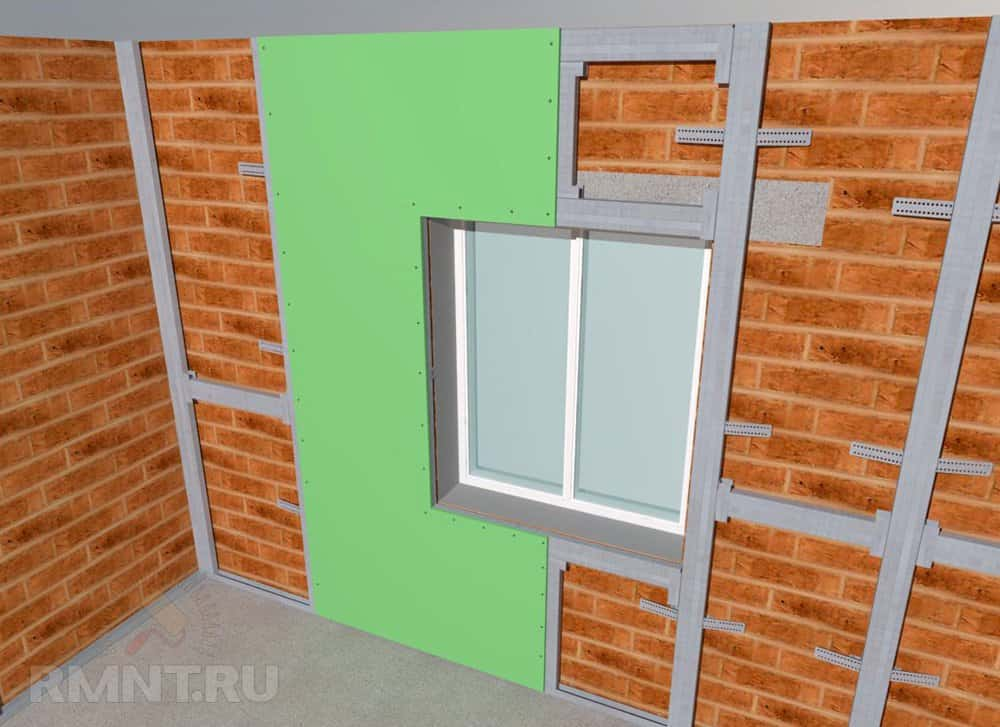 montaj rigips ferestre