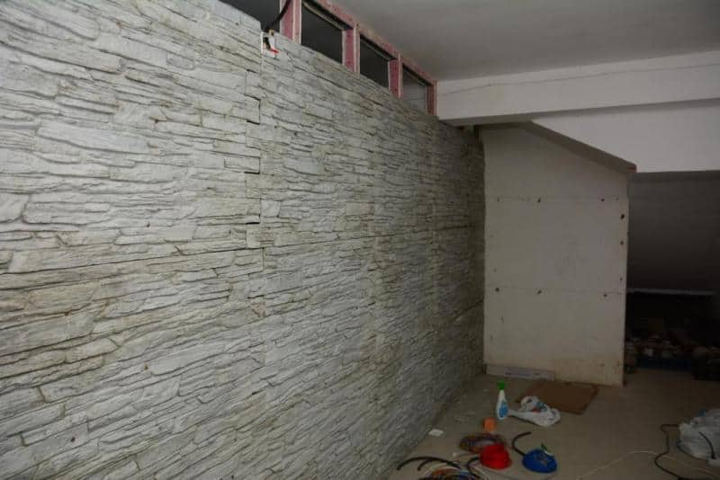placare pereti interiori cu caramida aparenta pe rigips