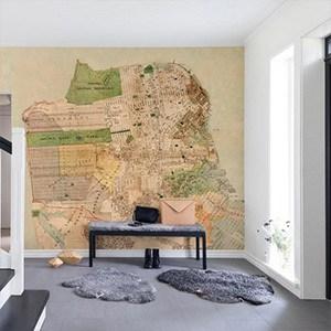Fototapet harta de perete