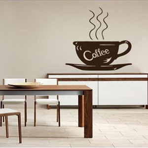 sticker de perete cafea