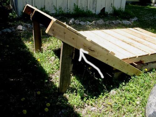 mobilier din lemn de gradina sezlong din paleti de lemn 1