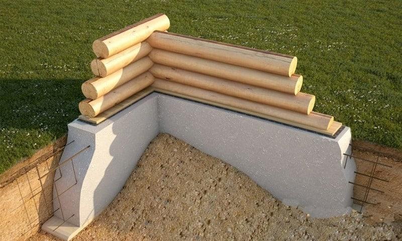 cum facem fundatia unei case din lemn