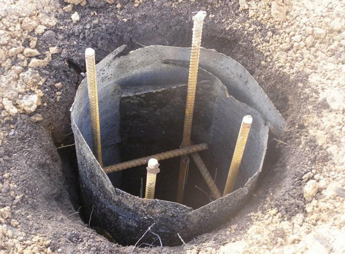 fundatie pe piloni din beton 1