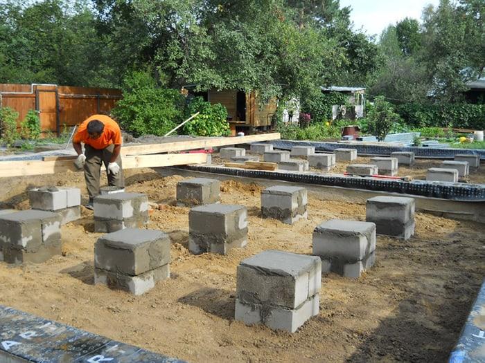 fundatie pe piloni din beton 2