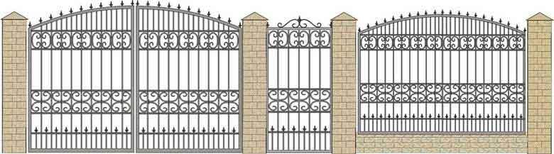 schita gard si porti din fier forjat 15
