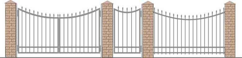 schita gard si porti din fier forjat 16