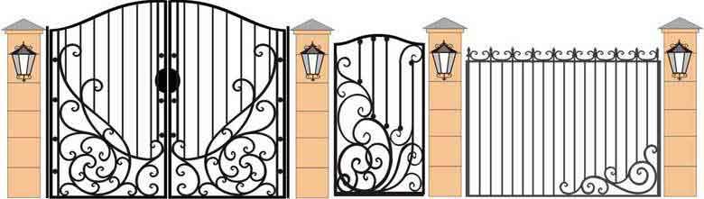 schita gard si porti din fier forjat 18