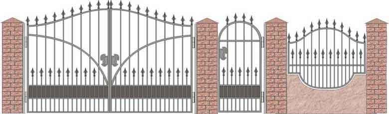 schita gard si porti din fier forjat 20