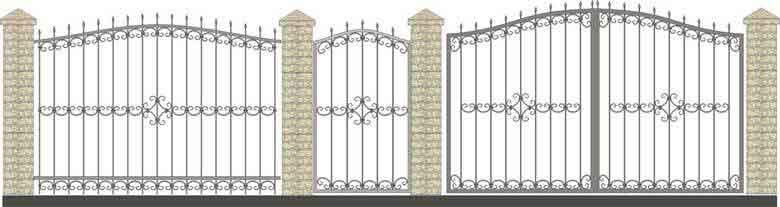 schita gard si porti din fier forjat 7