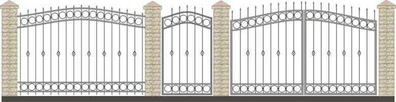 schita gard si porti din fier forjat 9