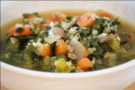 supa de quinoa