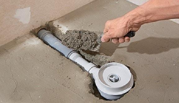 mortar pardoseala baie