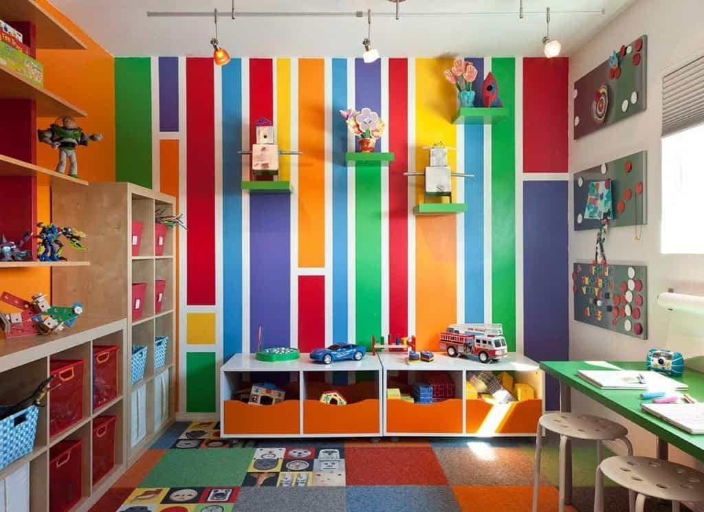 perete multicolor - semnificatia culorilor