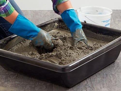 retete mortar argila