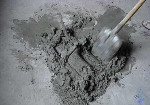 mortar de ciment