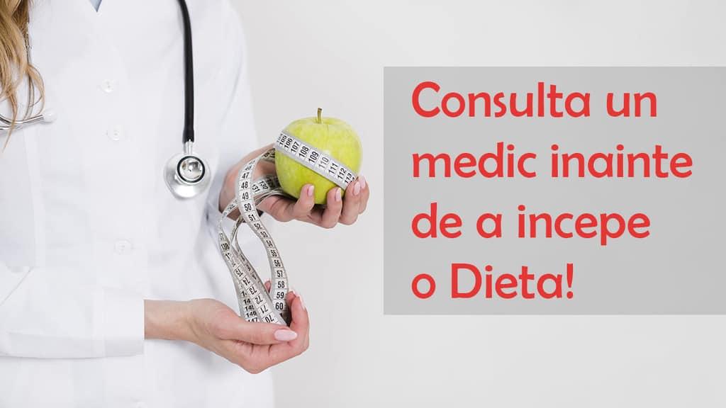 consulta un medic inainte de a incepe o dieta
