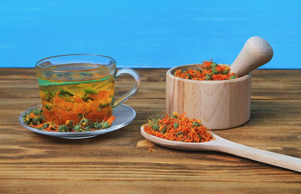ceai de galbenele pentru gastrita