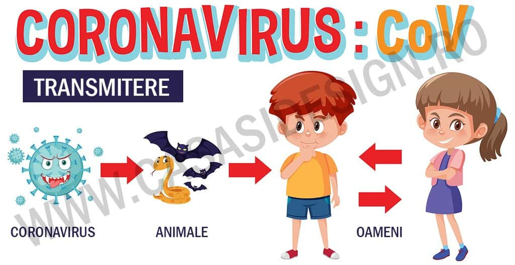 cum se transmite coronavirusul