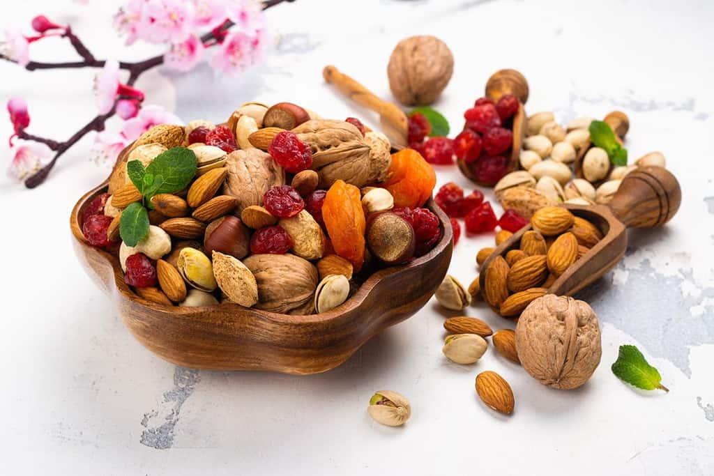 mix de nuci seminte si fructe uscate