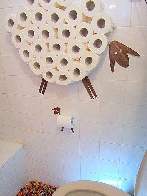 suport hartie igienica in forma de animal