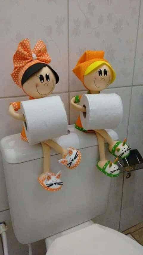 suport hartie igienica pentru copii