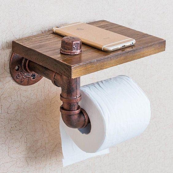 suport telefon pentru baie