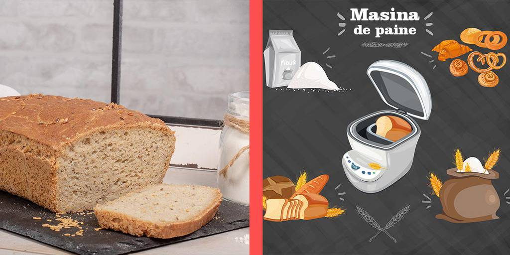 masina de facut paine acasa
