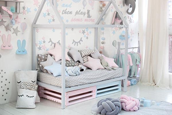 pat pentru fetite
