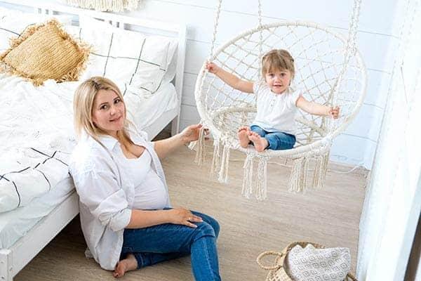 scaun suspendat tavan pentru copii