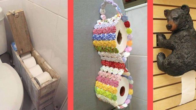 suport hartie igienica pentru baie si toaleta