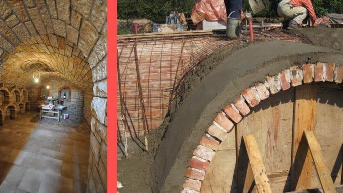 constructie pivnita sau beci caramida