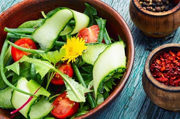 reteta salata de papadie