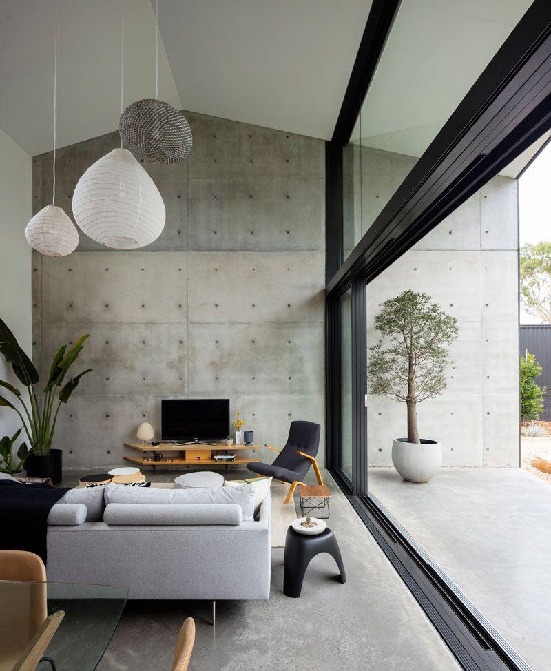 finisaj living din beton