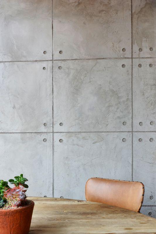 pereti din beton brut