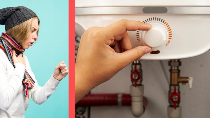 temperatura optima apa calda centrala termica