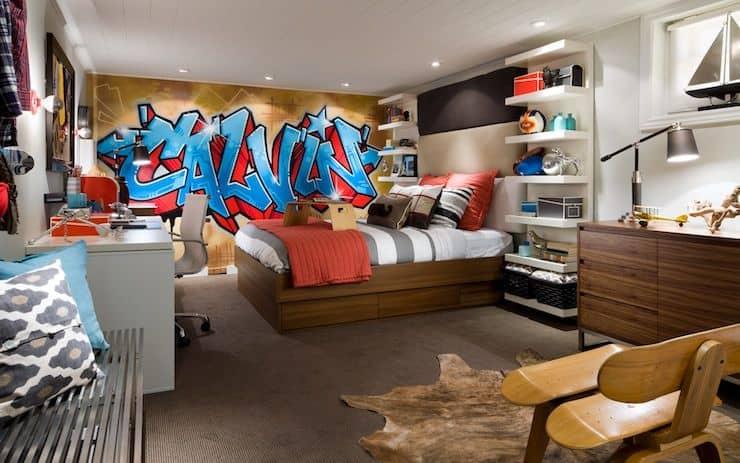 graffiti design interior