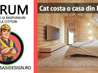Cat costa o casa din lemn de 80 m2